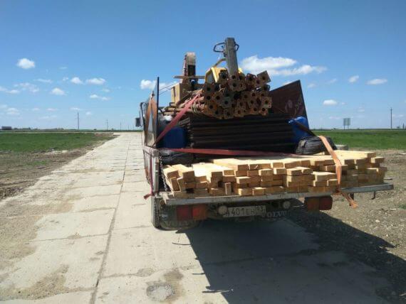 Доставка строительных материалов